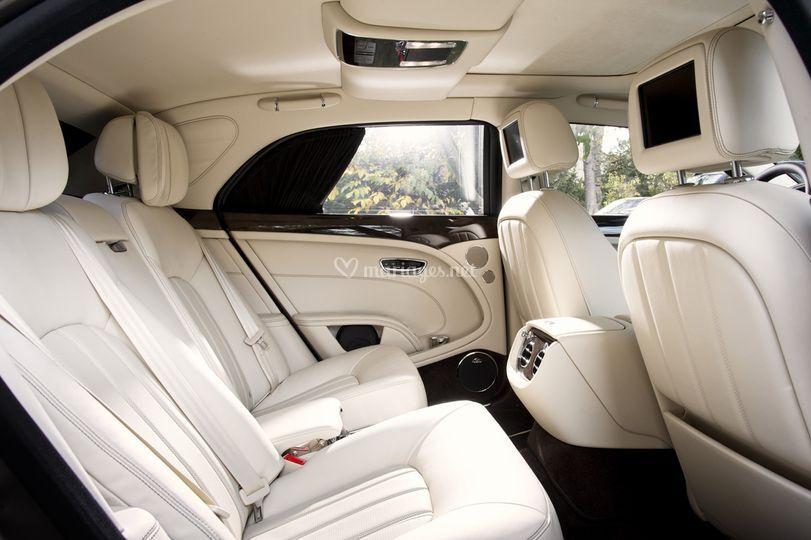Bentley mulsanne noire