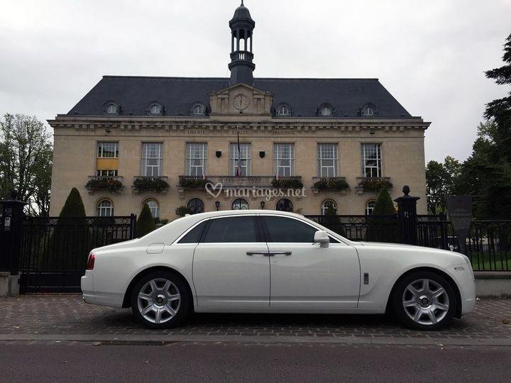 Rolls Royce Ghost Blanche