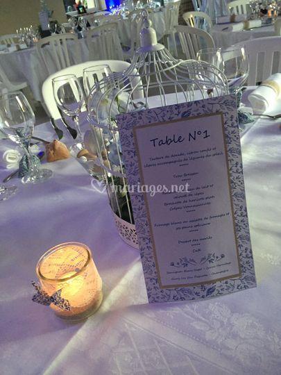 Déco table