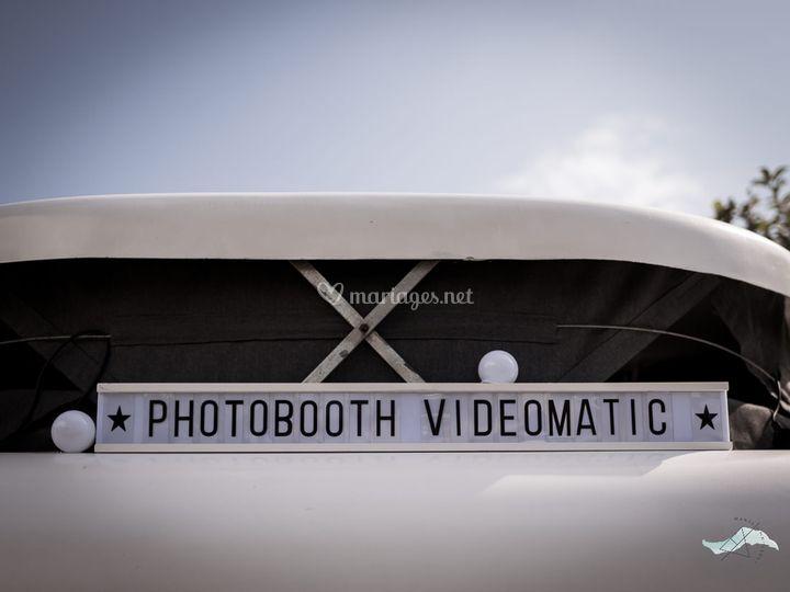 Le photobooth vidéomatic