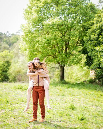 Séance engagement mariage