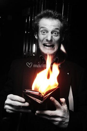 Maxime Delforges Magicien