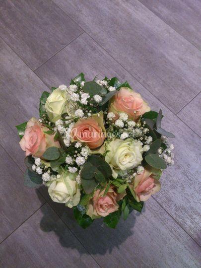 Rose/blanc