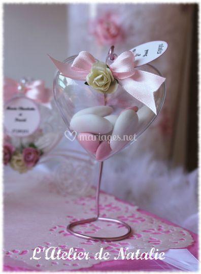 Cadeaux d'invités Coeurs