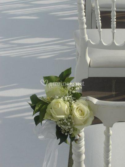 Bouquet pour chaise