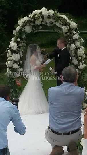 Decoration ceremonie
