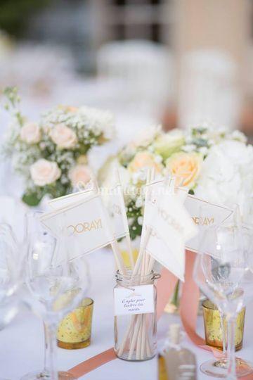 Ombelline décoration de table