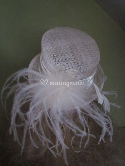Petit chapeau ivoire