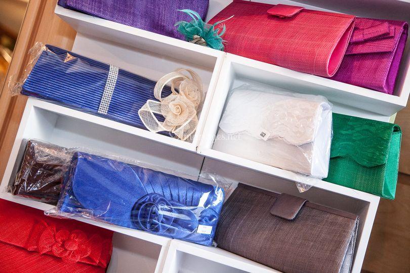 Pochettes divers coloris