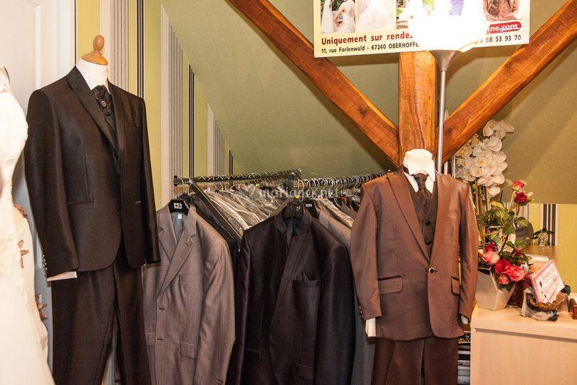 Grand choix en costumes