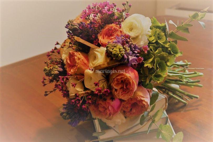 Bouquet de mariée octobre