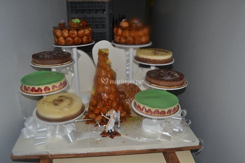 Présentoir de gâteaux