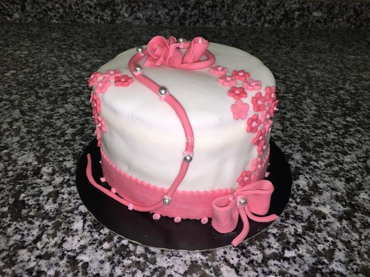 Wedding cake par table