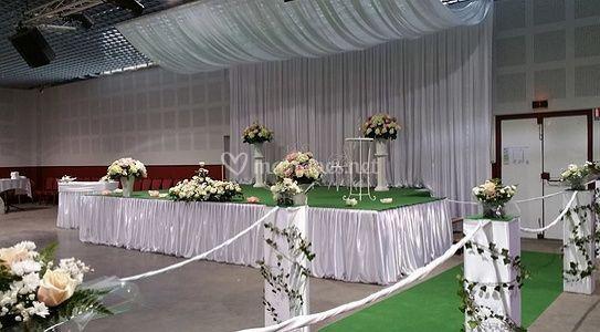 Beau mariage décoration