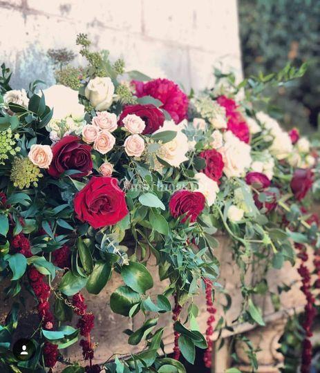 Mise en valeur fleurie