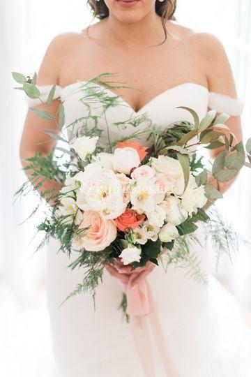 Bouquet d'Imane & Xavier