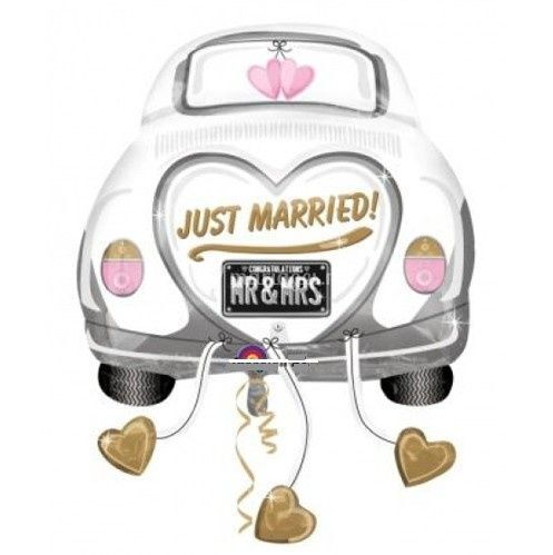 Ballon Just Married