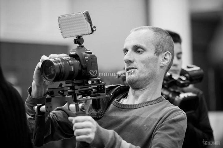 Cameraman en action