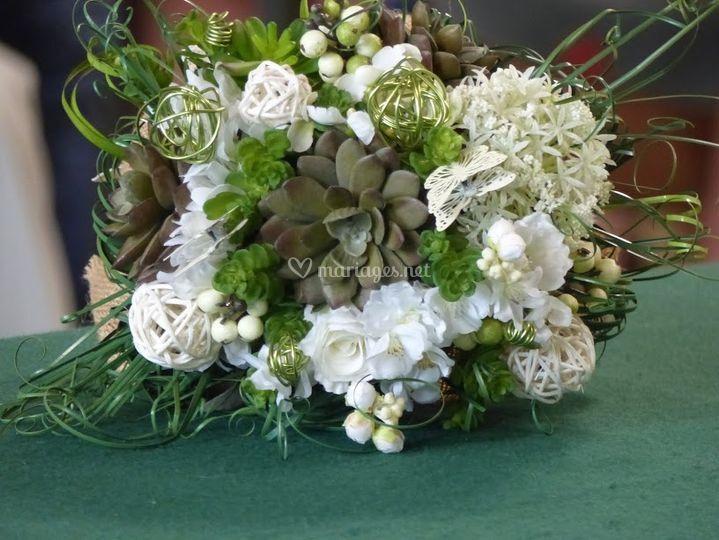 Bouquet  succulentes