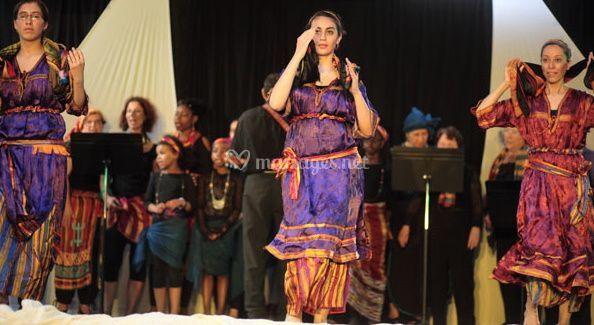 Atlas'sia, danse Kabyle