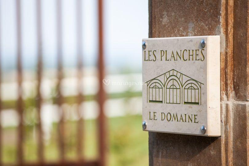 Domaine Les Planches