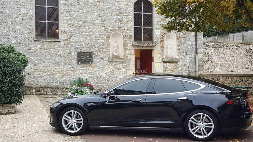 Tesla Model s Noir