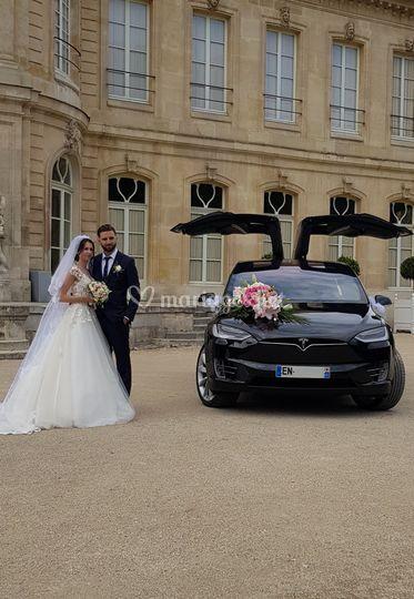 Model X noir+mariés