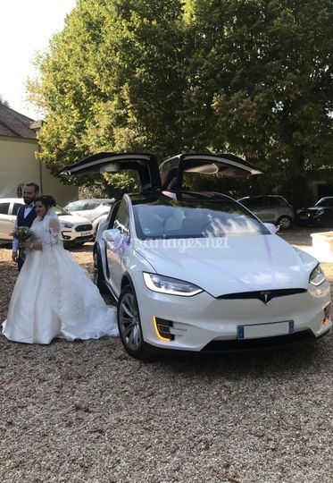 Model X Blanc+mariés