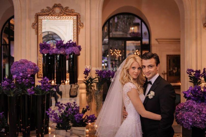 Mariage à Paris au Georges V