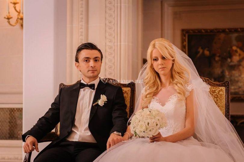 Mariage à Paris au George V