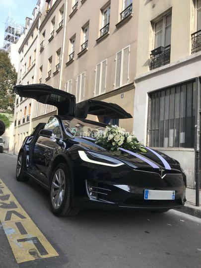 Model X noir pack déco