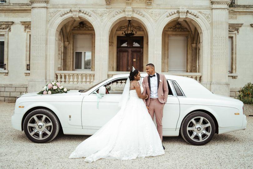 Rolls Royce Phantom blanche FD
