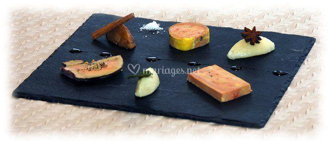 Assortiment de foie gras