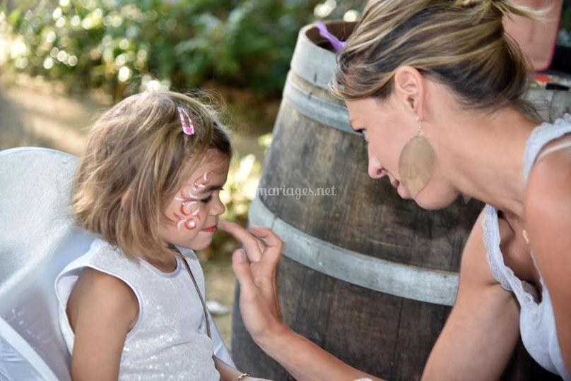 Animation maquillage enfants