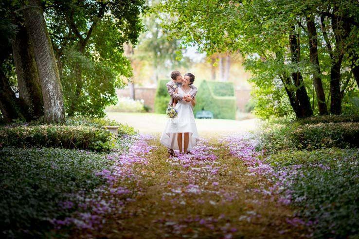 Un beau décor pour ces mariés