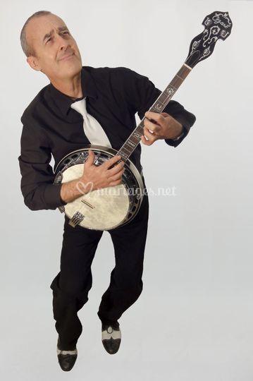 Banjoïste jazz