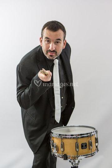 Batteur jazz