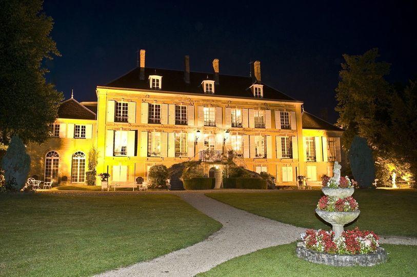 Ch teau de pierry for Jardin nocturne