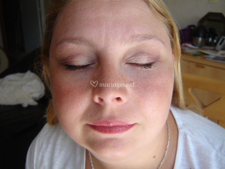 Maquillage naturel jour