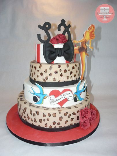 Gâteau pin up