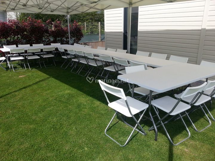 Nos tables et chaises