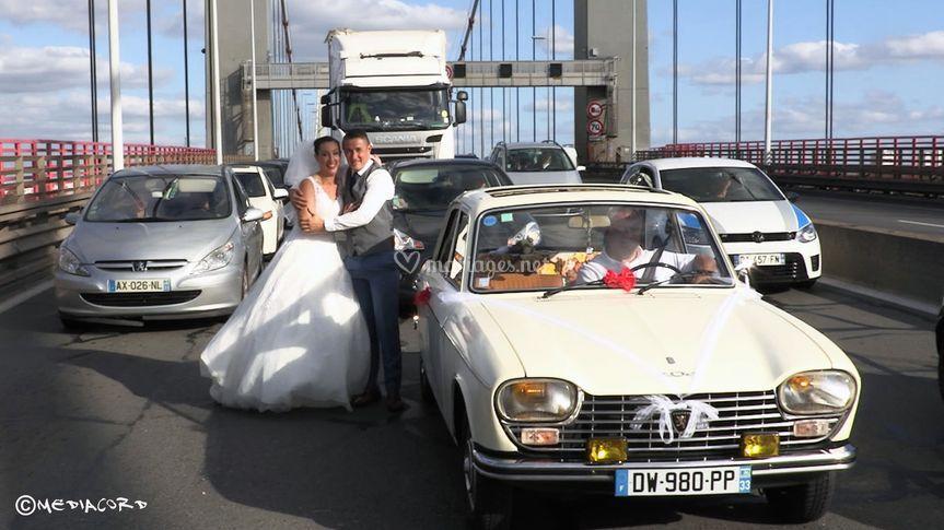Les mariés de la route