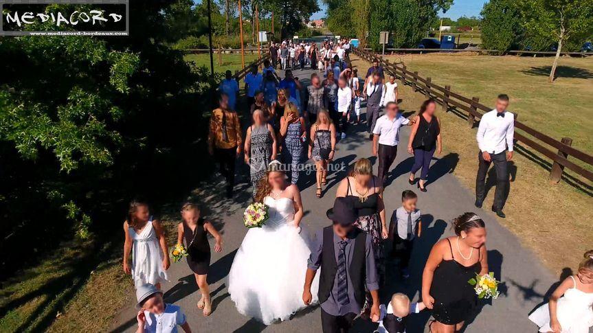 La marche de la mariée