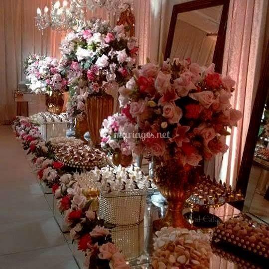 Sweet table au château