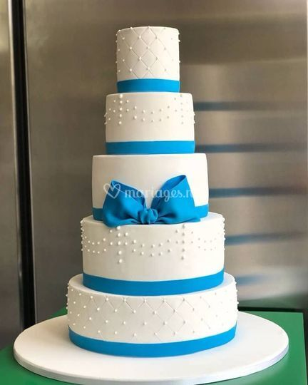 Wedding cake Bleu