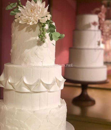 Luxury weddingcake