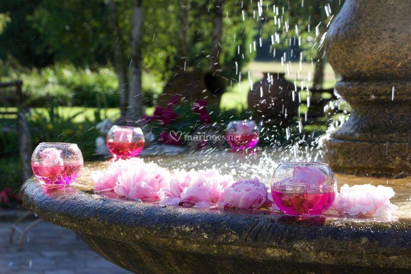 Décoration fontaine