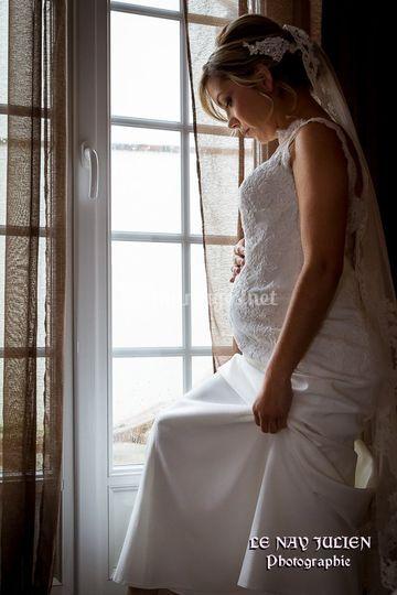 Courbe de grossesse.