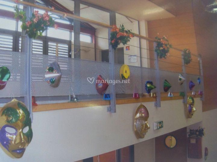 Balustrade mezzanine décorée S