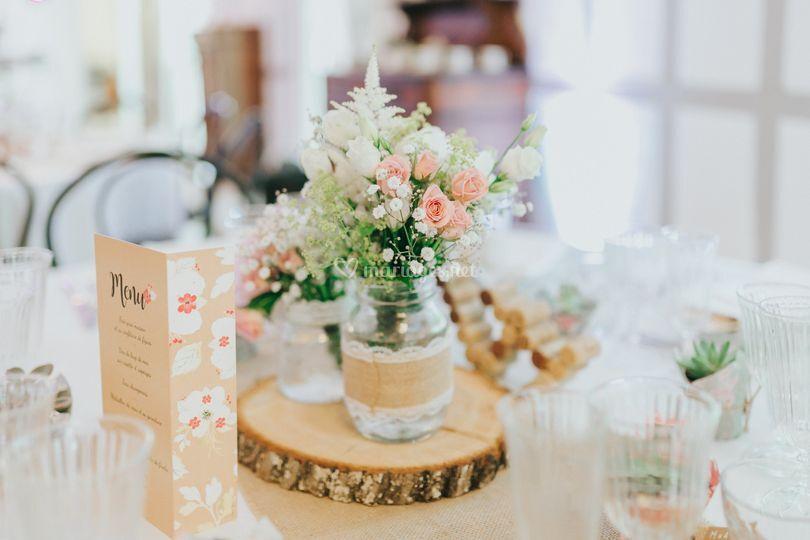 mariage blanc et fushia de la belle epoque photos. Black Bedroom Furniture Sets. Home Design Ideas